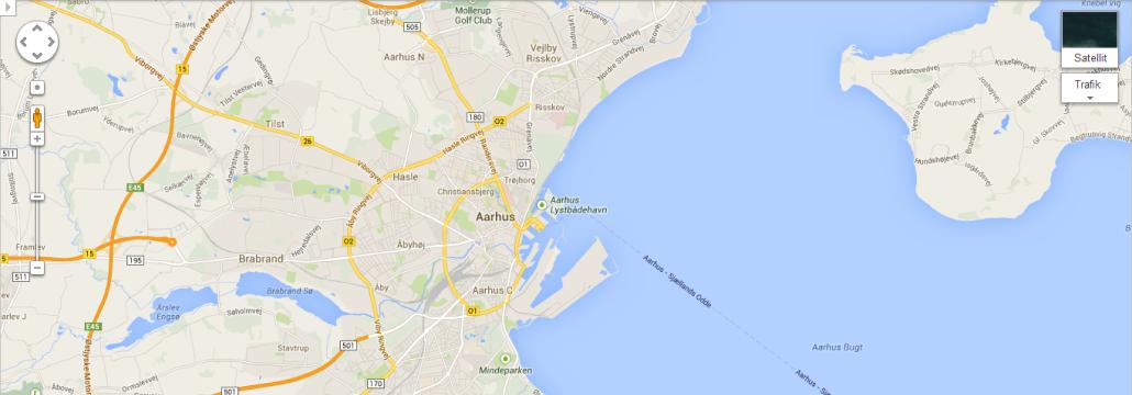 Google Maps Århus